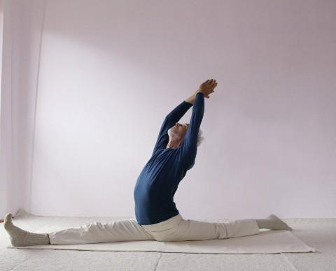 Yogastellung-spagat-hanumanasana